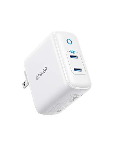 Anker PowerPort III Duo (PD対応 36W 2ポート USB-C 急速充電器) 【PSE認証済/折りたたみ式プラグ搭載/PowerIQ 3.0搭載 / USB Power Delivery対応/コンパクトサイズ】iPhone & Android対応(ホワイト)