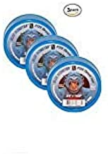 Milrose 70886 Blue Monster 3/4 Inch x 1429 Inch MDPE Blue Teflon Tape (3 Pack)