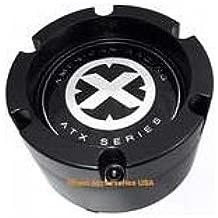 American Racing ATX 198 Chamber II 199 Mojave II Center Cap Satin Black fits 6x139.7 (6x5.5) bolt pattern only