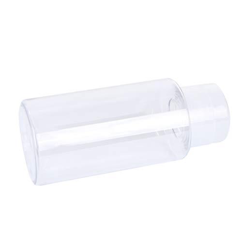 EXCEART 1 Unid 300Ml Dispensador de Bomba de Empuje Hacia Abajo Botella de Presión con Cierre Botella de Plástico Botella de Viaje Botella de Presión Bomba Vacía con Cierre Botella