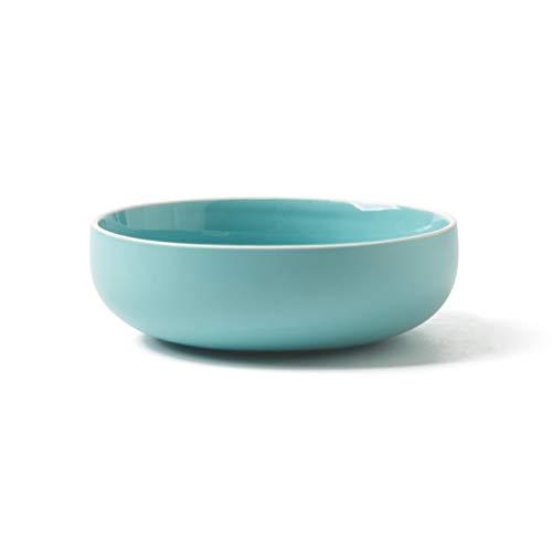 CJW Bol rond en porcelaine profonde - Salade/Soupe/Nouilles 6\