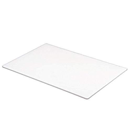 Professionelles Schneidebrett für Gastronomie und Lebensmittelzubereitung, mit Farbkodierung: Weiß