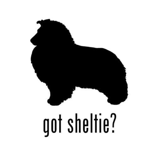 Auto Stickers En Stickers Honden 12,5 Cm * 15 Cm Karakter Dier Hond Sheltie Kreeg Herinnering Vinyl Raamstickers