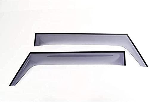 4Stück Windabweiser für Suzuki Jimny 2019-2020, Seitenfenster Deflektor Rauchabzug Visier Sonnenschutz Schneeschutz Regenschutz Autozubehör