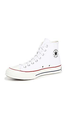 Converse Unisex Taylor Chuck 70 Hi Sneakers, Mehrfarbig (White/Garnet/Egret 102), 37.5 EU