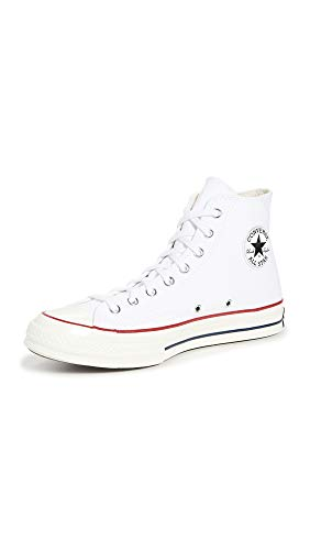 Converse Taylor Chuck 70 Hi, Sneaker Unisex-Adult, White/Garnet/Egret, 38 EU