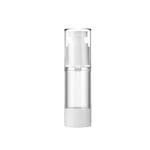 Zhou Bouteille à Vide Distributeur Transparent, Vaporiser Emulsion sous-Bouteille Portable Presse Type de Kit Voyage Bouteilles cosmétiques yan (Color : D, Size : 15ml)