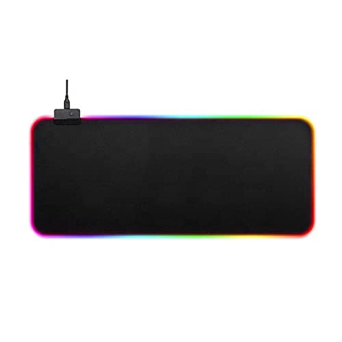 N\C Gaming Mouse Pad Computer Mousepad R G B Large Mouse Pad Gamer X X L Mouse Carpet Big Mause Pad P C Desk Play Matwith Backlit