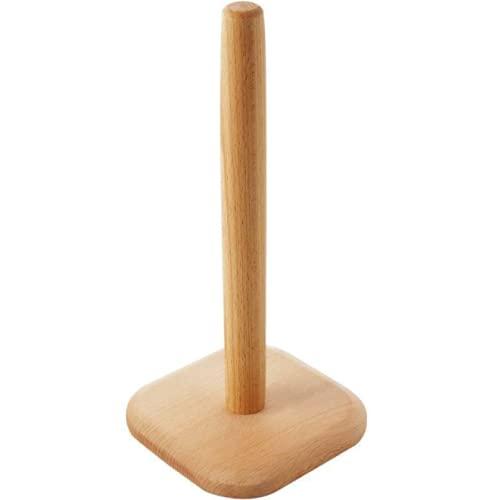 Portarrollos de cocina antideslizante de papel de madera Scottex para cocina, dormitorio, baño