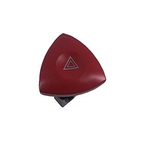 LMMY Botón de Interruptor de luz de Advertencia de Peligro de Emergencia para Renault Laguna Fit para Opel Vivaro Movano 8200442724
