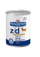 Hill's Prescription Diet Canine z/d ULTRA Allergen-Free nassfutter 4.44 kg (12 Packungen von 370 Gramm)