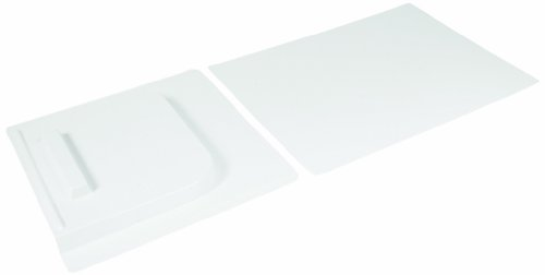 "Camco 45593 Screen Door Slide Set (12"" x 28"", White)"