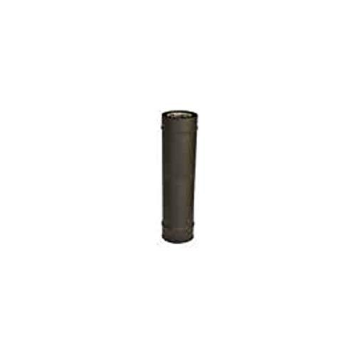 ISOTIP-JONCOUX 851308 ELT 033 Inox/G. Pellets, Noir, Diamètre 80/125