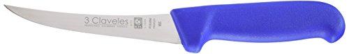3 claveles Couteau alvéolé pour Boucher Proflex de 30, Acier Inoxydable, Noir, 38 x 5 x 1.7000000000000002 cm