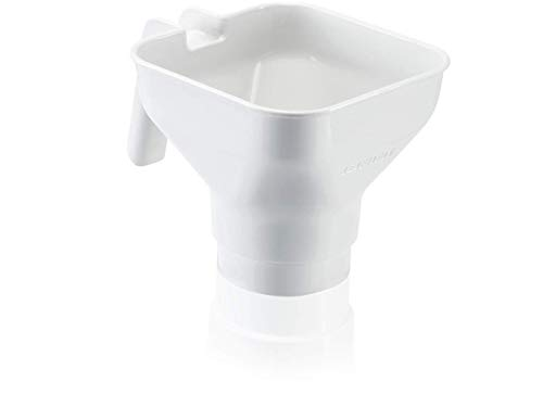 Leifheit Einfülltrichter ComfortLine-Serie, Einmachtrichter aus hochwertigem Kunststoff, Marmeladentrichter Ø 82mm, spülmaschinengeeignet, Einmachhilfe mit Henkel für Eingemachtes und Selbstgemachtes