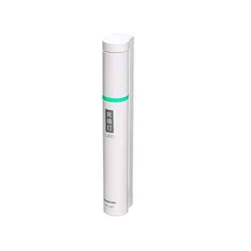 東芝 LED常備灯(懐中電灯) 単3形×2本(別売) ホワイト KFL-321(W)