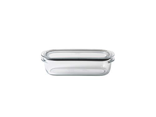 ライクイット(like-it) キッチン収納 調理ができる 保存容器 M クリア FC-002 容量520ml 冷凍保存可 食器洗い乾燥機可