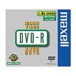 Maxell DVD-R Rohlinge 4.7GB 16x 5er Pack Jewel Case