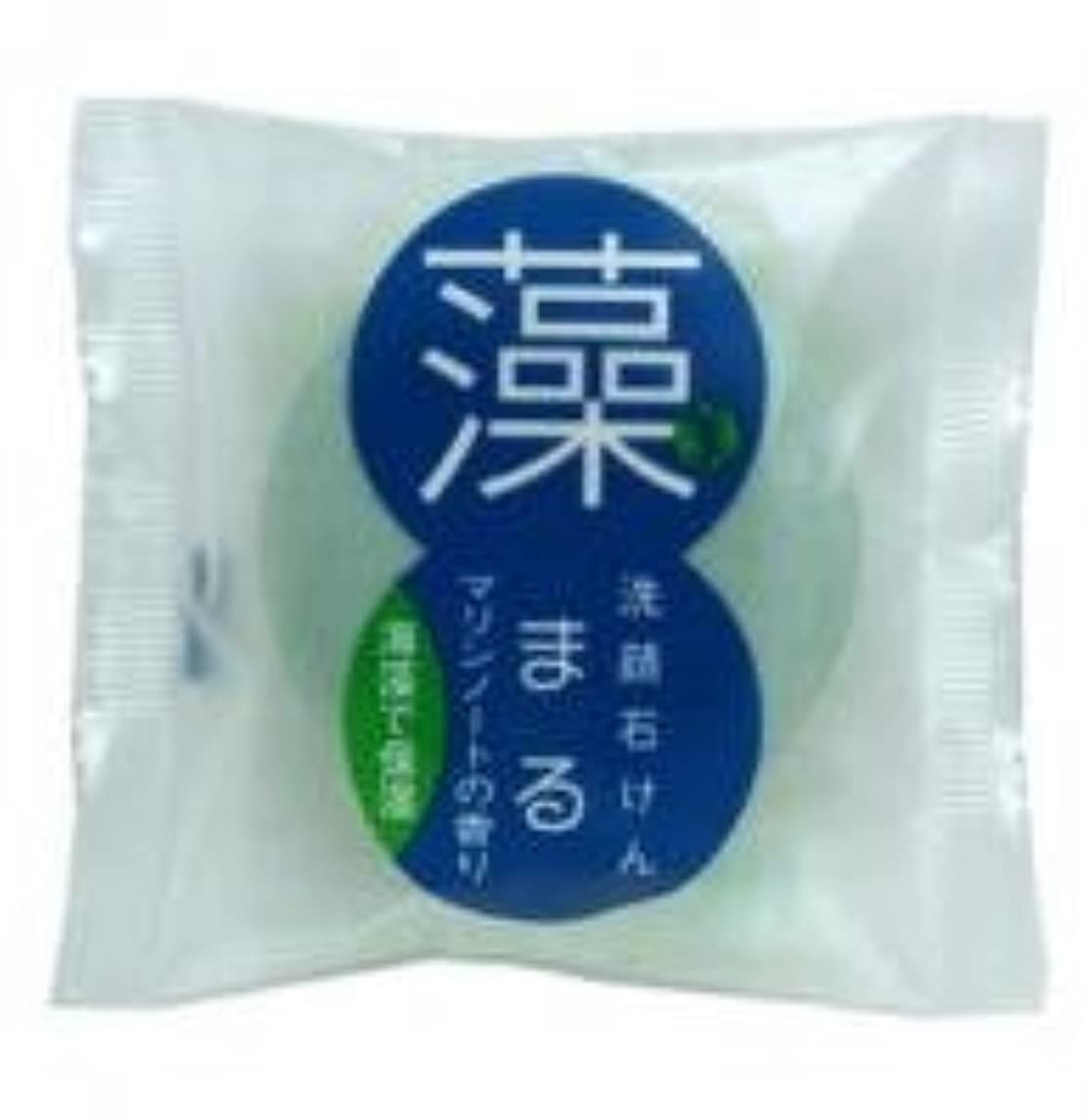 アジアショット圧縮されたまる 洗顔石けん 海藻