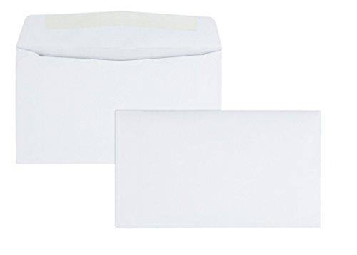 Qualität Park 90070Qualität Park Business Briefumschläge, modernes Naht, 6–3/4, White, 500/Box