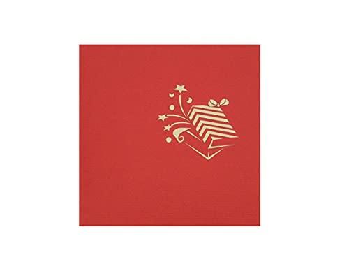 RF Distribution Biglietto Auguri con Origami Surprise, Pacchetti colorati