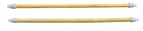 Kerbl Holzsitzstangen 4 Stck. 45cm 2X 10mm, 2X 12mm