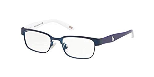 Ralph Lauren POLO 0PP8036 Monturas de gafas, Blue Navy Matte, 45 Unisex