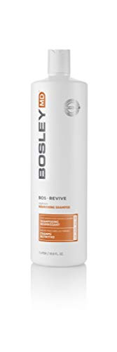 Bosley Bosley:bos-revive Nourishing Shampoo for Color-treated Hair 33.8oz, 33.8 Ounce