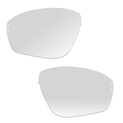 Ersatzgläser für adidas Evil Eye Halfrim und Pro a168 a198 a403 ad07 ad08 Gr. S (clear Antifog)