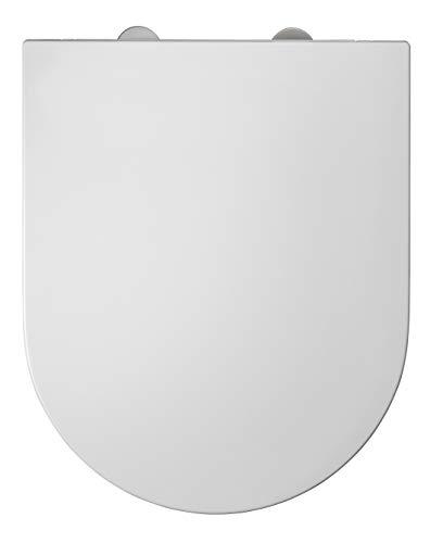 Allibert 822945 WC-Sitz, glänzend, 36,5 x 3,6 x 45 cm, Weiß