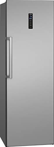 Bomann VS 7329 IX Vollraumkühlschrank, 359 Liter Nutzinhalt, multiAirflow-System: optimale Luftzirkulation und gleichmäßige Kühlung, keine Eisbildung, kein Abtauen erforderlich, inox