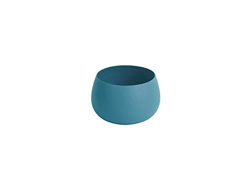 Present Time Nimble Photophore en Fer Bleu Ø 8 x 6 cm