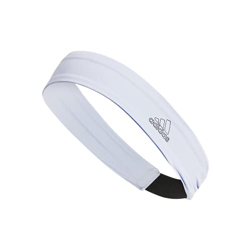 adidas Alphaskin Headband, Sky Tint/ Black/ White, OSFA