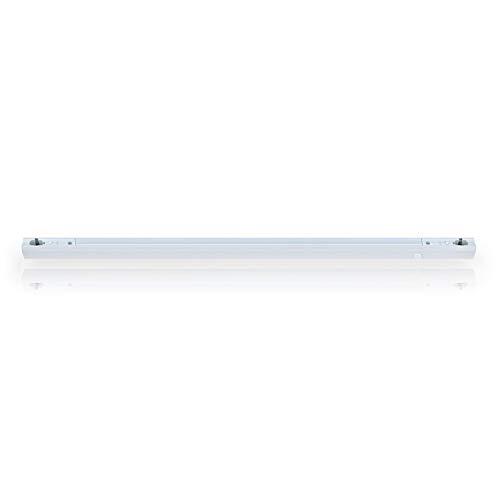 LEDmaxx S14S100 A, Fassung Linienlampe für Osram Linestra Ralina zwei Sockel, 100 W, S14s, weiß, 100 x 3.4 x 3.6 cm