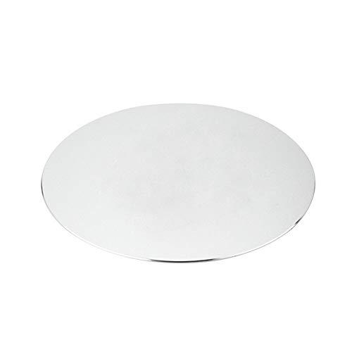 Ys-s Personalización de la Tienda Accesorio de computadora Mesa de computadora Lustrelessness Troll Raton Mat Aluminio Aleación Anti resbalón Juegos Metal Mouse Pad (Color : Silver)