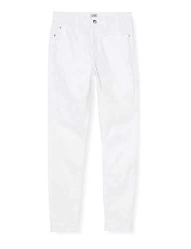 Pimkie Damen Ptw16amande Damenhose, White-Snow White-Uni-Allover-Blanc, 38