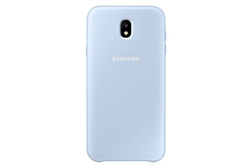 SAMSUNG Dual Layer Cover - Carcasa Galaxy J7 2017, Color Azul