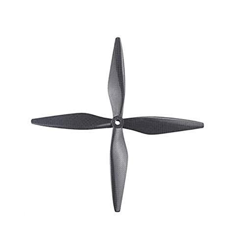 Accessori per droni Elica di ricambio per drone 2 paia adatta per elica Dji 1038 1038 in fibra di carbonio 10X3, 8 8mm Cf Puntelli Lame 10 pollici adatta per eliche drone Dji F450 F550 Drone Quadcopt