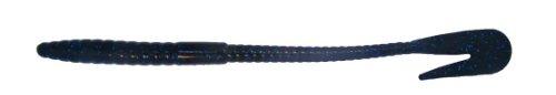 Bass Assassin RW58473: Rail Worm 7 Blueberry