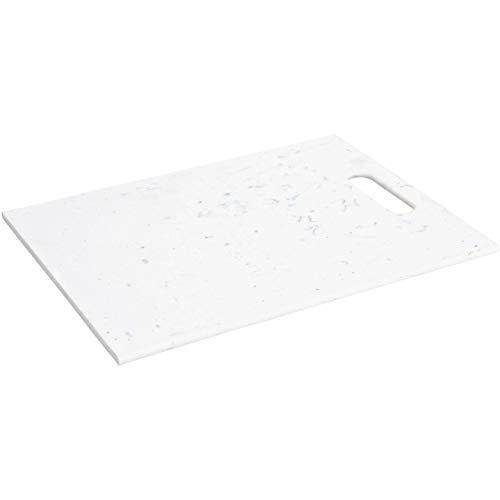 EH Excellent Houseware Tagliere in plastica, 32 x 22 cm, bianco