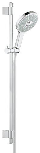 GROHE Power & Soul Cosmopolitan 160 | Brause- und Duschsysteme - BRAUSESTANGENSET | 900mm, 4+ Strahlarten, variable Bohrlöcher zur Befestigung, chrom | 27746000