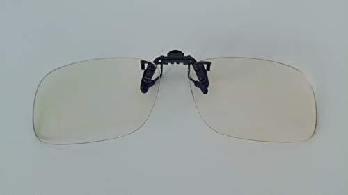 Pixel Lens Clips para Ordenador, TV, Tablet,Gaming. contra el cansancio Ocular, Confort Visual, Certificada luz Azul - 41% Y UV -100% en la Universidad de Turín