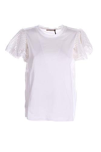 TWIN SET COLLEZIONE 211TT222A 00001 Bianco Ottico Twin Set Blusa Donna S