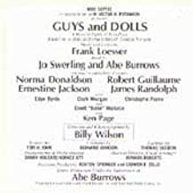 Guys & Dolls 1976 Broadway Revival