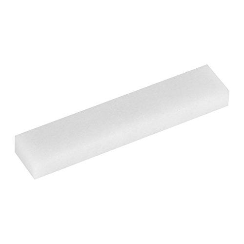 Pedra de afiar faca natural vestível, pedra de afiar, para afiar facas de cozinha tesouras de polir(White jade 8000 mesh)