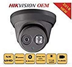 4K PoE Security IP Camera - Compatible as Hikvision DS-2CD2385FWD-I UltraHD 8MP Turret Onvif IR Night Vision Weatherproof ...