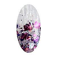 グラスネイルアート ネイルグリッター N9-3【ローズパープル】