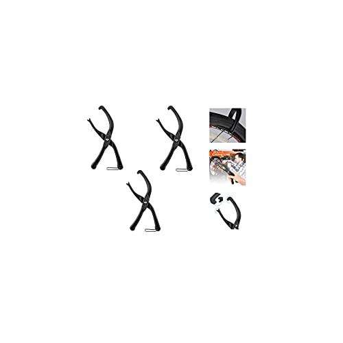 Abrazadera De Extracción De Neumáticos De Bicicleta,Bike Rim Protector,Material Abs No Tóxico, Herramientas De Palanca, Instalación Y Desmontaje De Neumáticos, Adecuado para Bicicletas. (1 PCS)