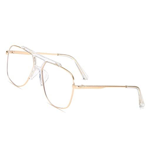 YHNY Luz Azul bloqueando Gafas de computadora-antifatiga Gafas-Lentes Anti-Azules Rose Gold