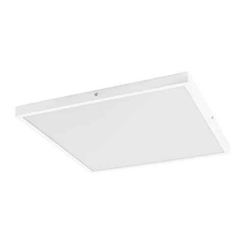 EGLO FUEVA 1 plafondlamp, aluminium, 25 W, wit